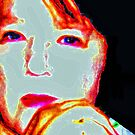 Self Portrait by Deborah Lazarus