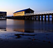 Grand Old Pier at Sunrise by neverforgotten