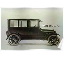 1921 Chevrolet Poster