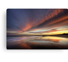 Reflected Sunset Canvas Print