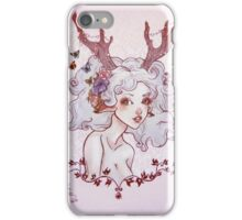 Spirit of the forest. iPhone Case/Skin