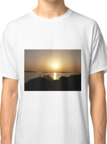Paros Island, Greece - At Day's End Sunset Classic T-Shirt