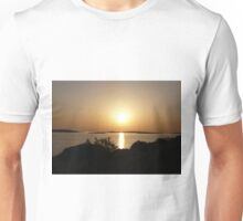 Paros Island, Greece - At Day's End Sunset Unisex T-Shirt