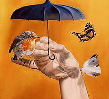 Le Parapluie by Nicole Marbaise