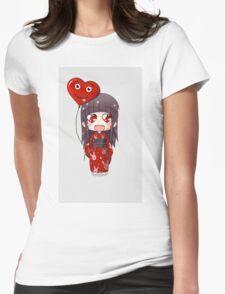 Valentine Chibi Womens Fitted T-Shirt