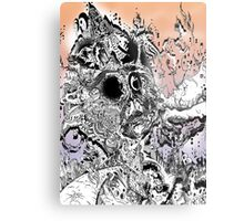 Monsteroso Comic book pen drawing 1 Metal Print