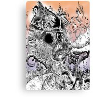 Monsteroso Comic book pen drawing 1 Canvas Print