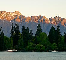 Remarkables Range, Queenstown, South Island , New Zealand. by johnrf