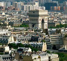 Eiffel view of Paris by SUBI