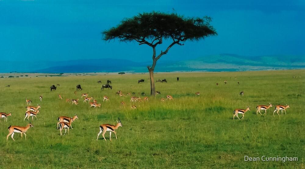African Life / Masai Mara GR by Dean Cunningham