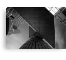 urban geometry Canvas Print