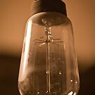 Nostalgic Bulb of Incandescent Light by dansLesprit