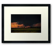 The Campo Colorado Tornado of 2010 Framed Print