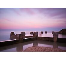 Coogee Sunset Photographic Print