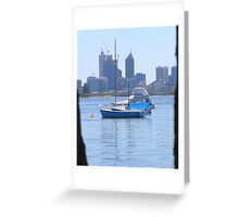 Perth Skyline Greeting Card