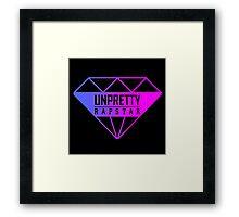 Unpretty Rapstar Logo Framed Print