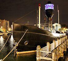 Spurn Lightship by martinhenry