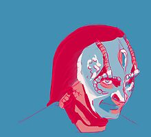 Elim Garak in a limited palette by piratesgospel
