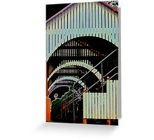Underneath the Arches Greeting Card