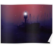 Spurn Lightship Poster
