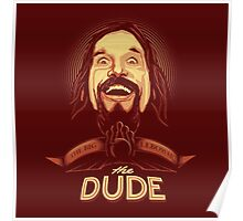 The Dude The big Lebowski Poster