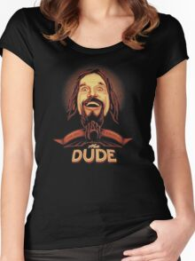 The Dude The big Lebowski Women's Fitted Scoop T-Shirt