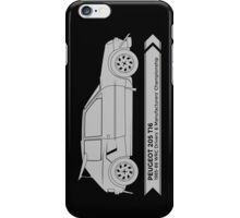 Rally Legends - Peugeot 205 T16 iPhone Case/Skin