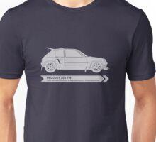 Rally Legends - Peugeot 205 T16 Unisex T-Shirt