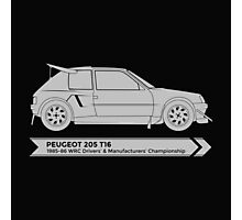Rally Legends - Peugeot 205 T16 Photographic Print