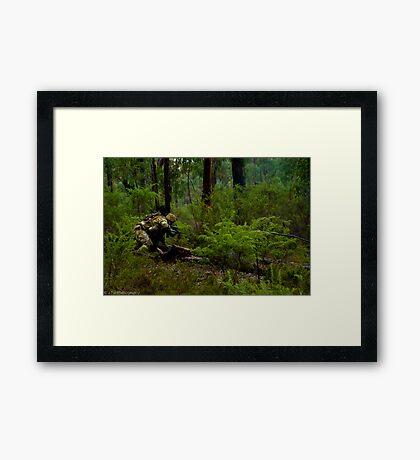 My Green Life - The Monkey Crawl Framed Print
