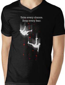 TAKE EVERY CHANCE Mens V-Neck T-Shirt