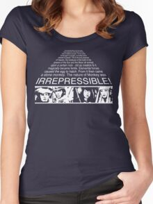 IRREPRESSIBLE Women's Fitted Scoop T-Shirt