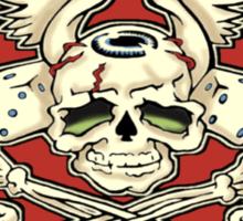 Brush With Death Shirt Sticker