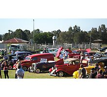A Collection of Hot Rods. Photographic Print