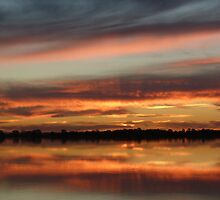 lake bonney sunset by Aus27