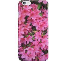 Pink Azalea Flowers iPhone Case/Skin