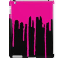 DRIP DRIP DRIP- Magenta/Black iPad Case/Skin