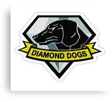 diamond dogs *stitched version* Canvas Print