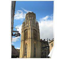 The Wills Tower, Bristol, UK Poster