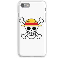 one piece pirate flag! iPhone Case/Skin