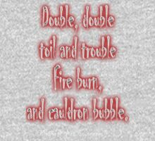 MACBETH, Play, Double, Double Toil & Trouble, Bubble, Witches, Shakespeare, Kids Clothes
