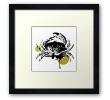 Mr. Crab Framed Print