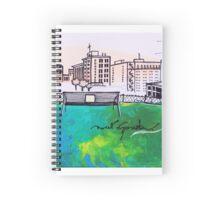 Sweet Disposition Spiral Notebook