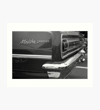 Chevy Malbu Chevelle Art Print