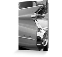 1959 Cadillac Coupe de Ville Greeting Card