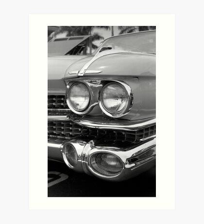 1959 Cadillac Coupe de Ville Art Print
