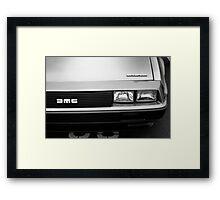 DeLorean DMC-12 Framed Print