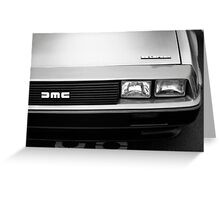 DeLorean DMC-12 Greeting Card