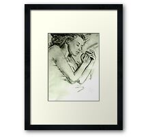 Unknown Dream Framed Print
