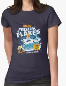 Frozen Flakes Womens Fitted T-Shirt